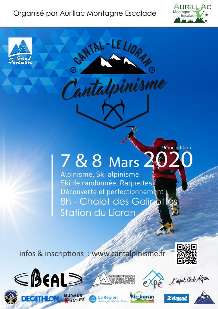 Affiche Cantalpinisme 2020